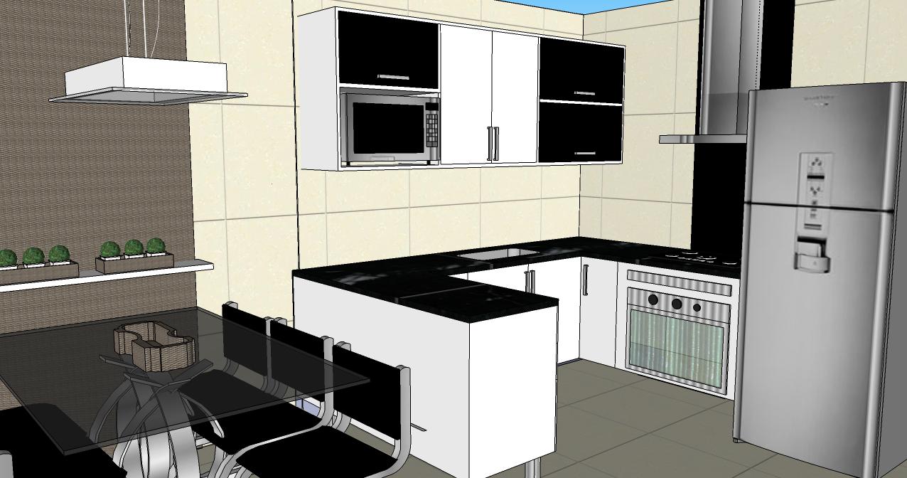 Mesa De Cozinha Planejada Olha S O Detalhe Desta Cozinha Onde Para
