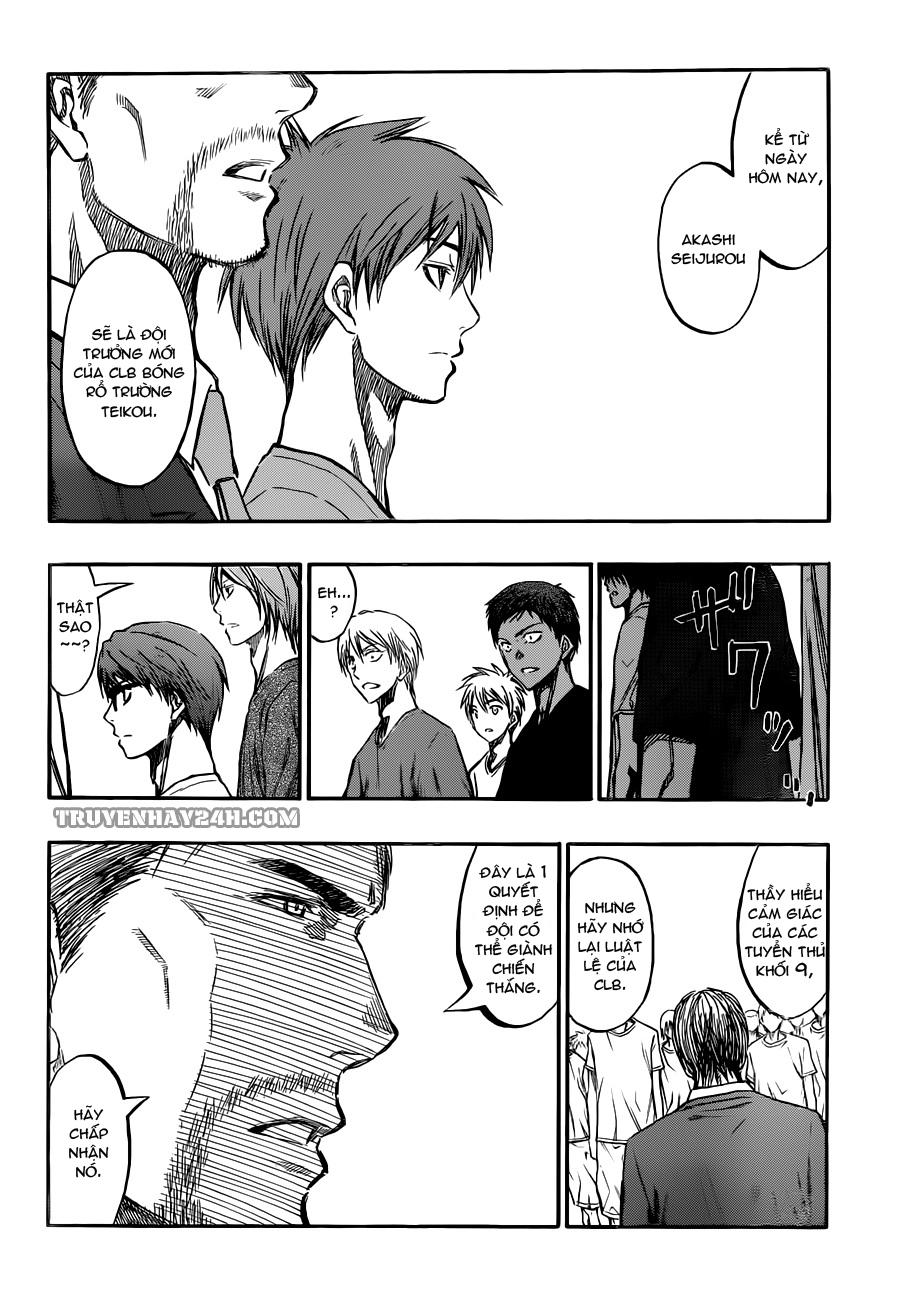 Kuroko No Basket chap 212 trang 8