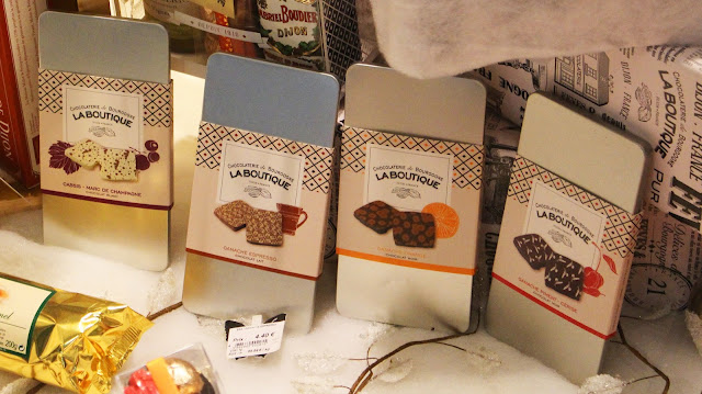 Dijon - Chocolaterie de Bourgogne, tablettes de chocolat