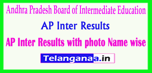 AP Inter Results with photo & Name wise Now Available 2018