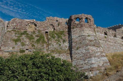 Μυτιλήνη: Έργα στερέωσης και αποκατάστασης του κάστρου