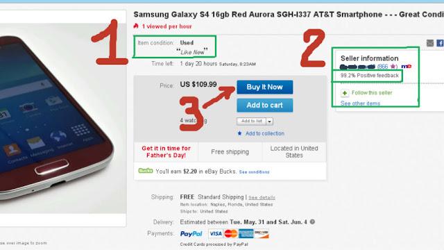 El vendedor en eBay