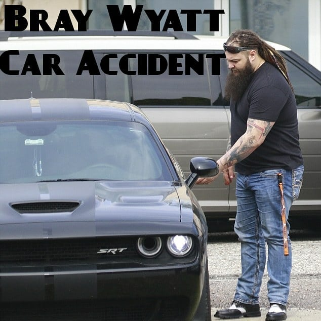 Bray Wyatt Car Accident , Tampa Florida