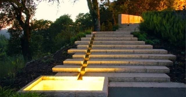 How To Build A Garden Stairs Design As A Decorative Element