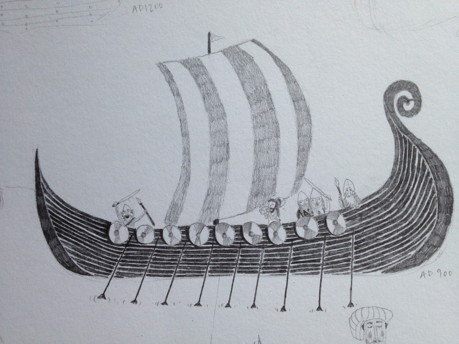 Diagram Of Viking Longboat Parts Of A Tall Ship Diagram ...