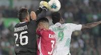 مواجهة الرجاء الرياضي و الوداد الرياضي في البطولة العربية للأندية تنتهي بالتعادل الاجابي بهدف لمثله