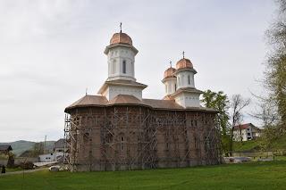 Sfanta Liturghie la Manastirea Dobric din Jud. Bistrita-Nasaud
