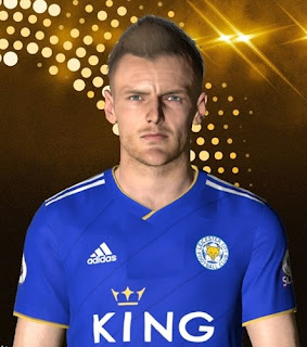 PES 2017 Faces Jamie Vardy by Facemaker Ahmed El Shenawy