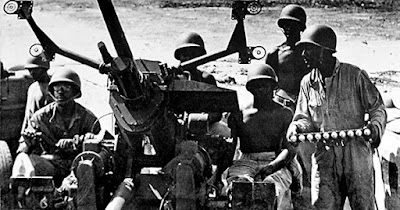 All-Black army unit in Hawaii during World War II