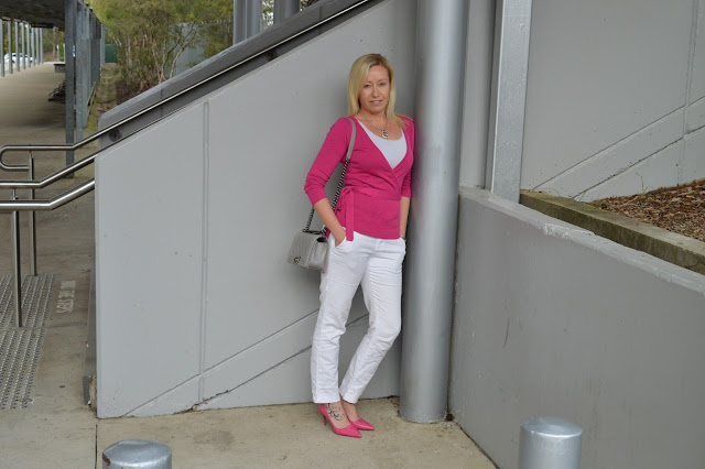 Sydney fashion Hunter - The Wednesday Pants #41 - Pink Ballerina