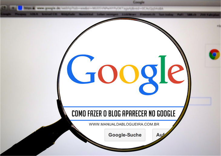 blog aparecer no google