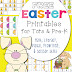Free Easter Printables for Toddlers and PreK