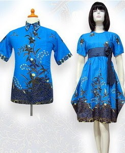 Model Baju Batik Pesta remaja