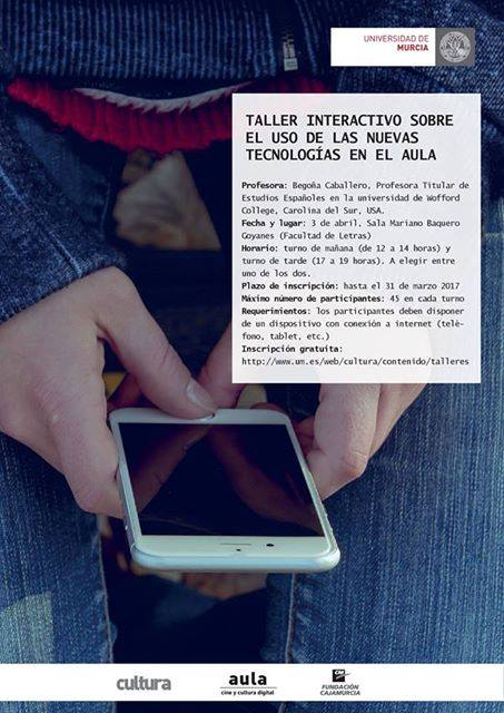 Taller interactivo sobre el uso de las nuevas tecnologías en el aula.