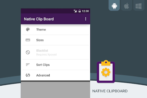 Native Clipboard تطبيق الحافظة في الاندرويد لحفظ النصوص المنسوخة