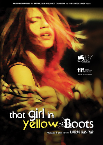 That Girl In Yellow Boots 2010 Hindi 480p HDRip 300mb