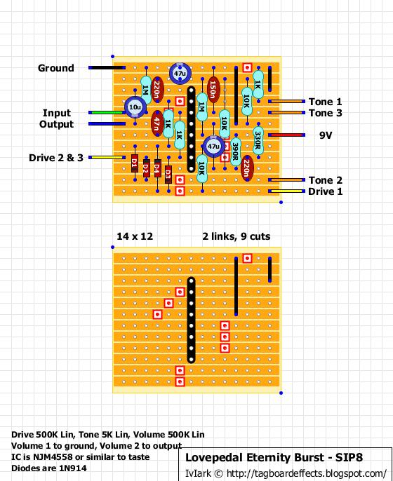 Guitar Pedal Vero Layouts : guitar fx layouts lovepedal eternity burst sip8 inline opamp ~ Hamham.info Haus und Dekorationen