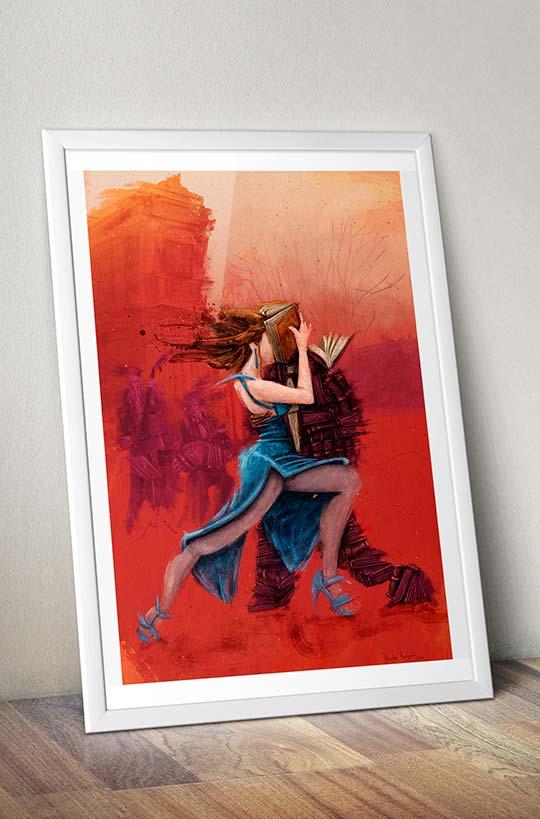 Poster, Tangos y letras