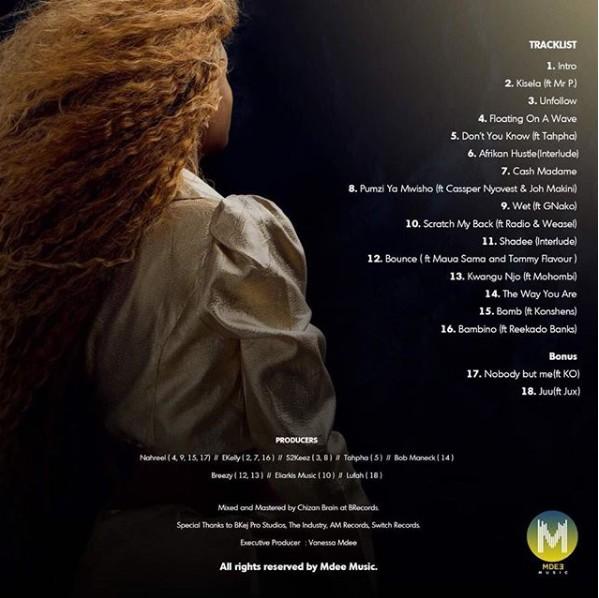 Vanessa Mdee ft Reekado Banks -Bambino