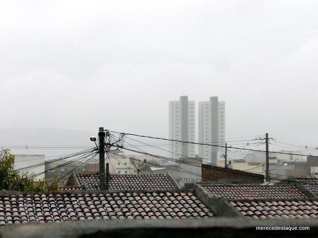 Manhã desta quarta-feira começa com muita chuva em Santa Cruz e Região