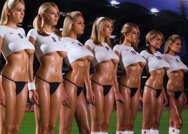 Pendukung Cantik dan Seksi Peserta Piala Dunia 2018