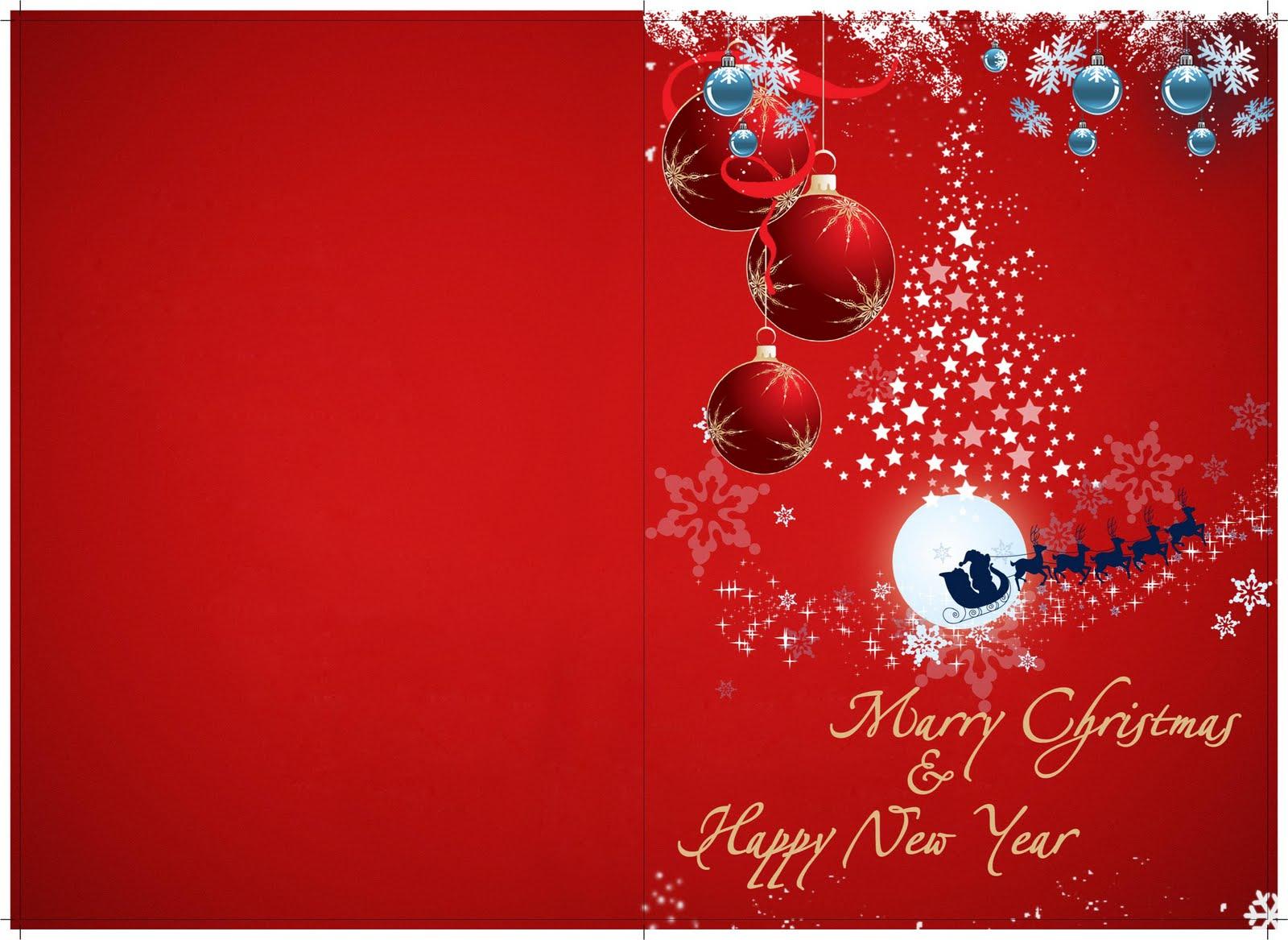Kartu Natal & Tahun Baru