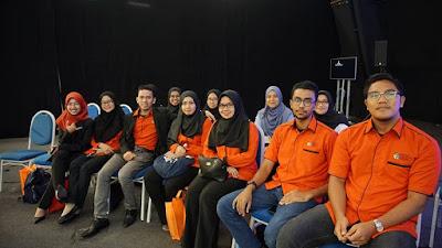Perwakilan PERTAMA dan FTSM di Dialog TN50