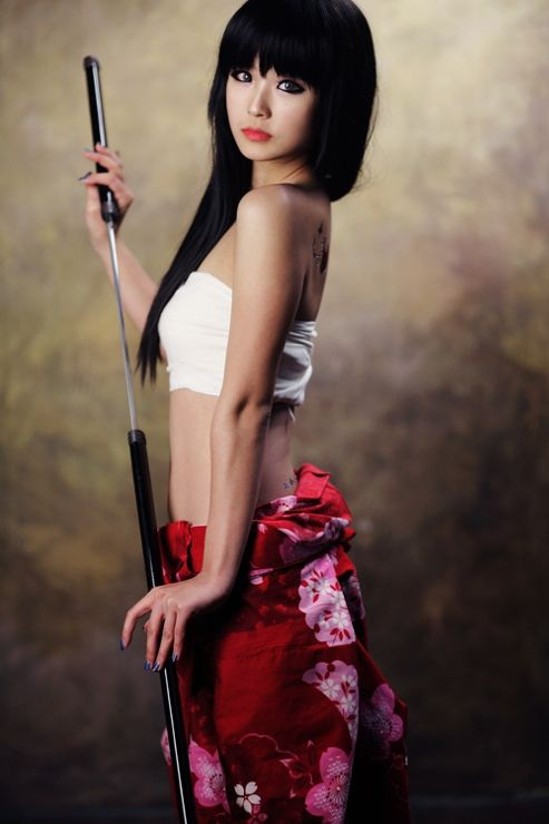 sexy asian cosplayer 05