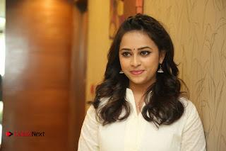 Actress Sri Divya Pictures at Rayudu Movie Success Meet  0137