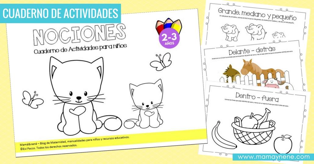 Nociones: Cuaderno de Actividades para niños