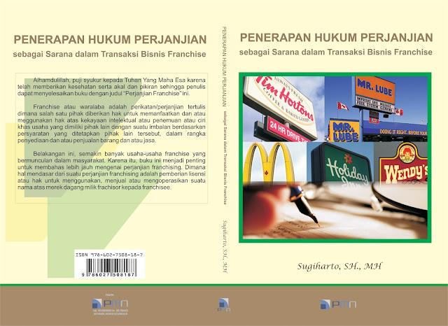 Buku Penerapan Hukum Perjanjian Franchise