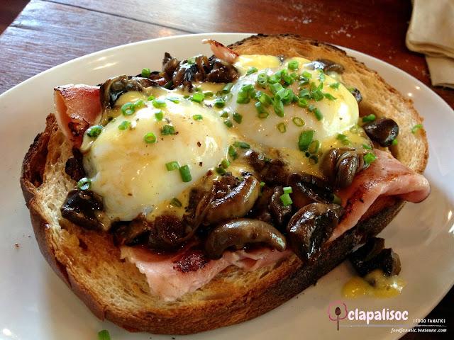 Eggs on Toast, Bordelaise Sauce