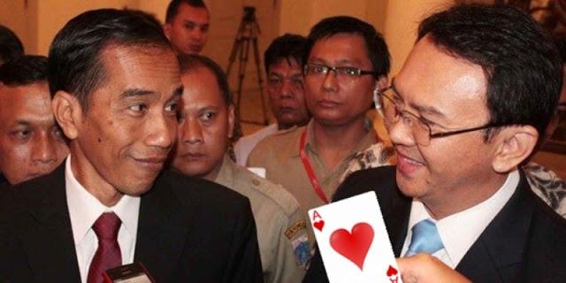 """Makin Terlihat, Ahok Pegang """"Kartu Mati"""" Jokowi"""