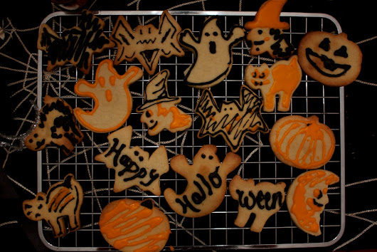 Spooktacular Halloween Cut-Out Cookies