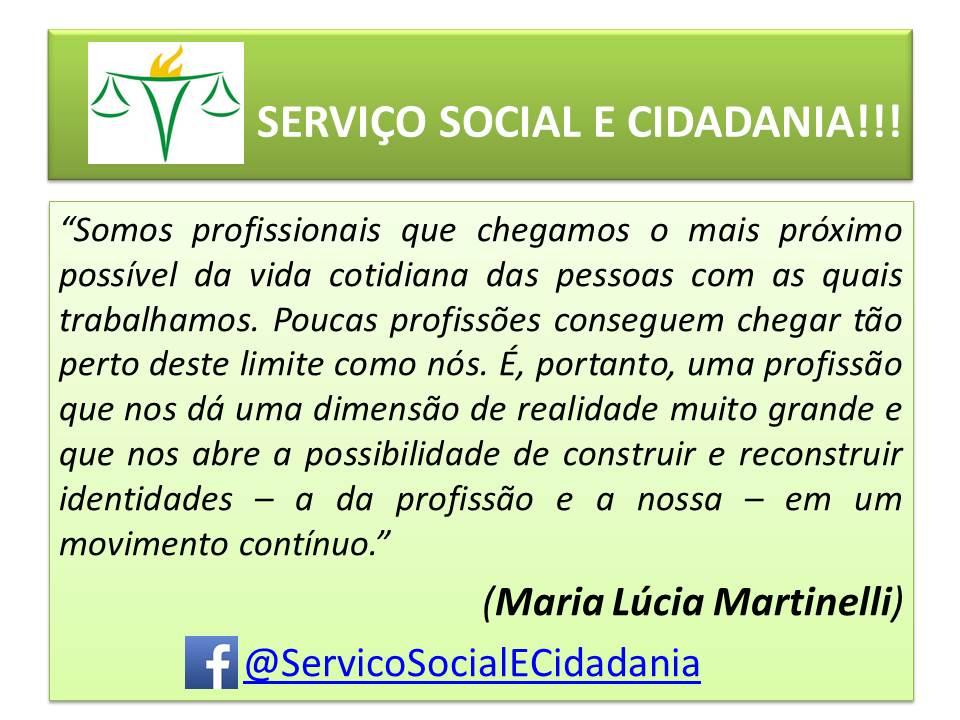 Serviço Social E Cidadania Reflexões Sobre O Serviço Social