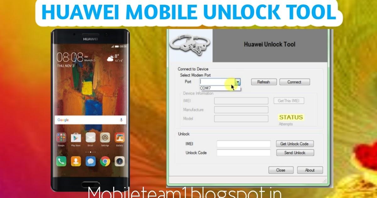 Huawei puk code