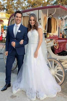 Pedro e Helena após o casamento - Crédito: Lourival Ribeiro/SBT