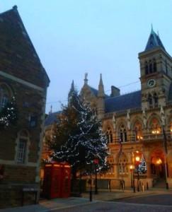 Christmas shopping in Northampton