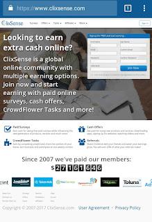 tampilan%2Bterbaru%2Bclixsense%2Bdekstop Tampilan baru dari ClixSense situs penghasil uang terbaik