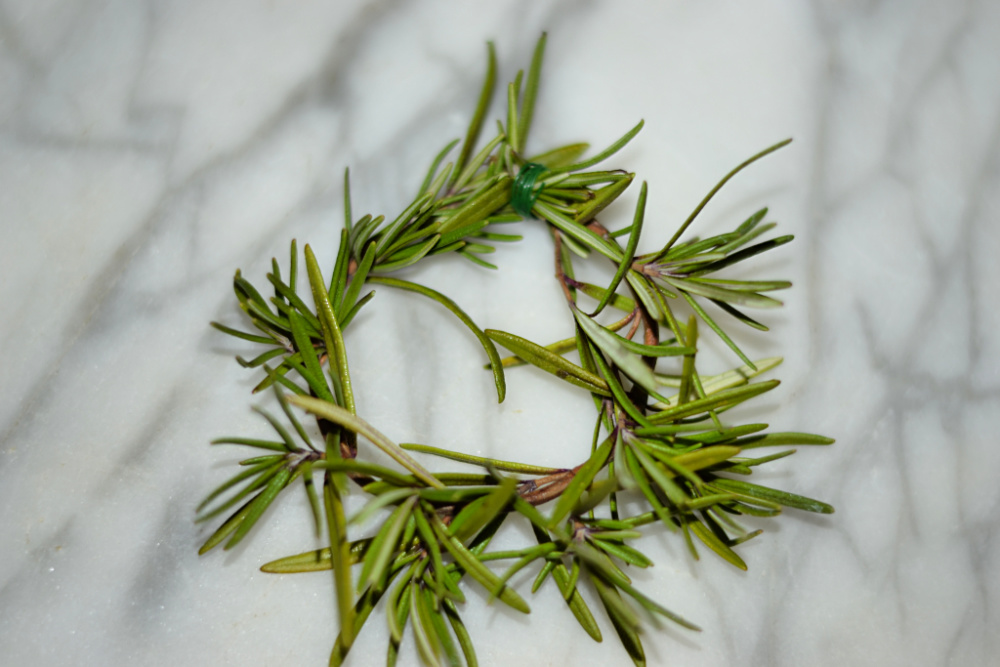 rosemary holiday wreath