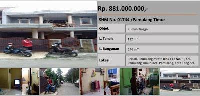 Rumah di Pamulang Estate