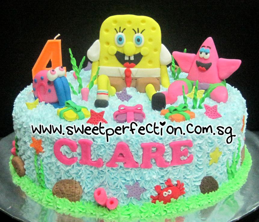 Sweet Perfection Cakes Gallery Code Spongebob 02
