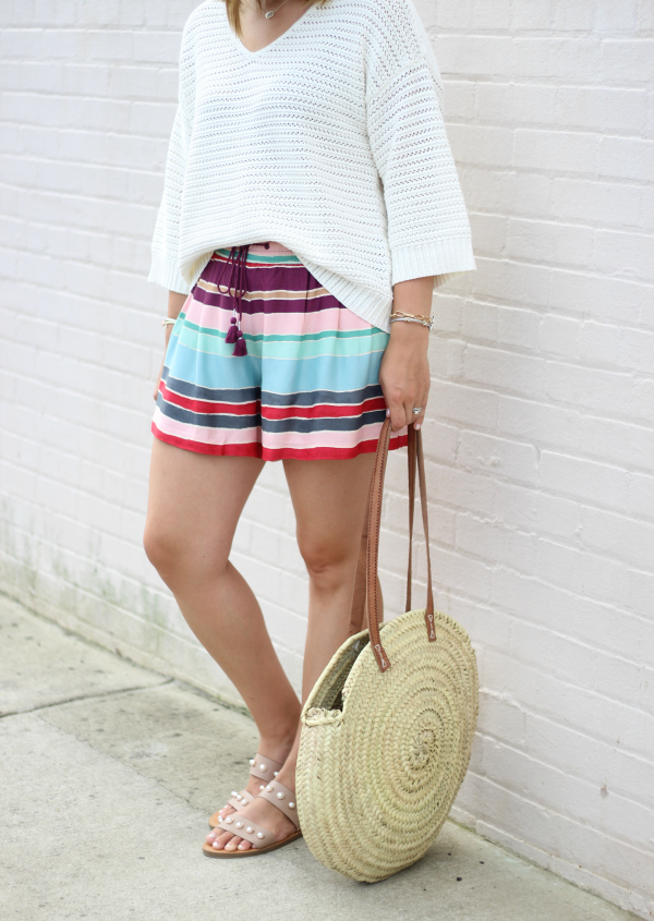 north carolina blogger, how to style a sweater for summer, casual style, mom style
