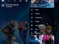 Download BBM Mod Transparent Frozen v3.2.5.12 APK