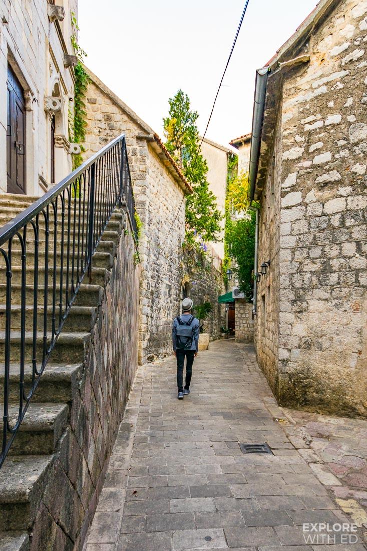 Exploring Kotor in Montenegro