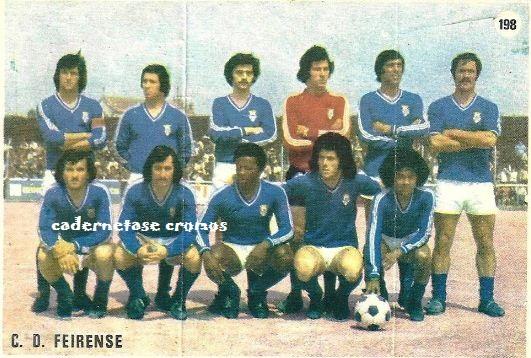 Feirense: CADERNETAS E CROMOS: CLUBE DESPORTIVO FEIRENSE