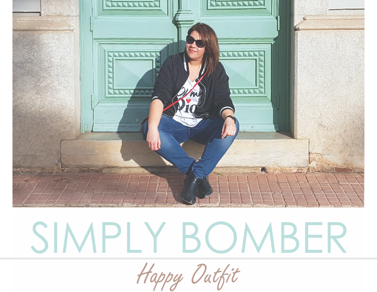 SIMPLY BOMBER · Happy Outfit
