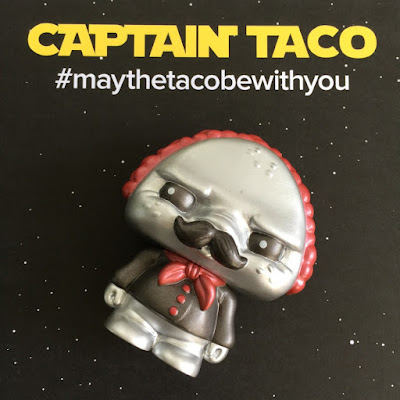 "Star Wars' Captain Phasma Inspired ""Captain Taco"" Paco Taco Vinyl Figure by Scott Tolleson & Pobber"