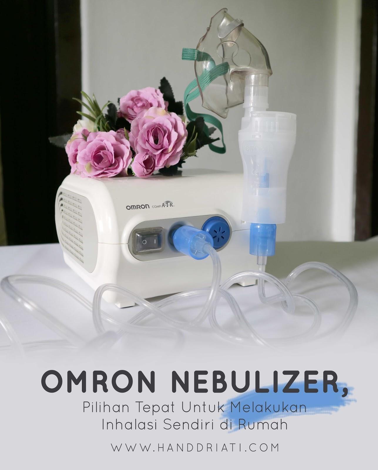 Omron Nebulizer Pilihan Tepat Untuk Melakukan Inhalasi Sendiri Di Rumah One Taste Millions Story