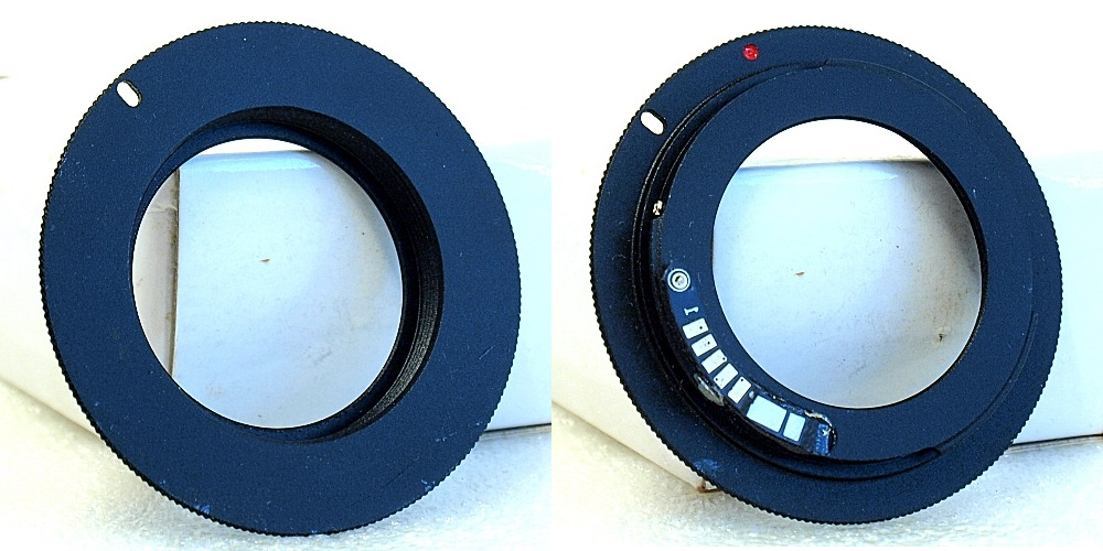 M42 - EOS Chipped Lens Adapter